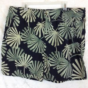 Tommy Bahama Trunks Shorts Palm Fronds Green Lg
